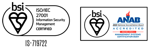 ISO 27.001 certified
